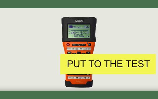 PT-E550WVP P-touch Beschriftungsgerät 3