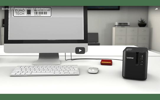 PT-P900W Wireless Label Printer 4