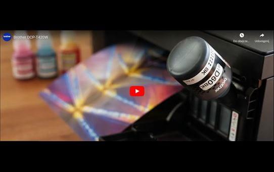 DCP-T420W barvna brizgalna večfunkcijska naprava 3-v-1 Brother InkBenefit Plus 8
