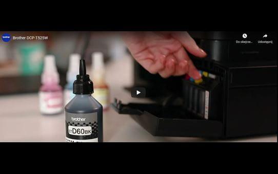 DCP-T525W InkBenefit Plus - kolorowe urządzenie wielofunkcyjne 3 w 1 9