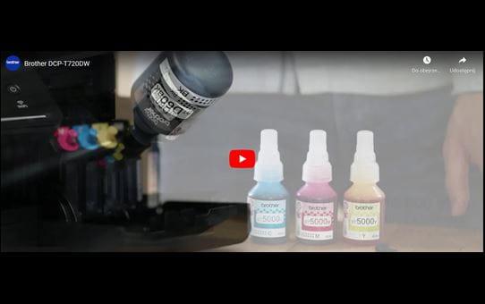 DCP-T720DW barvna brizgalna večfunkcijska naprava 3-v-1 Brother InkBenefit Plus 8