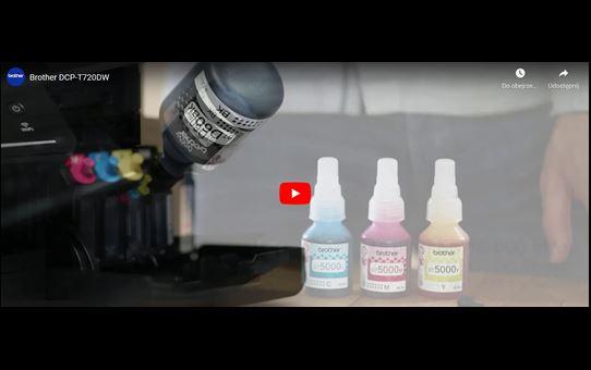 Brother DCP-T720DW InkBenefit Plus 3az1-ben színes, tintatartályos készülék 8