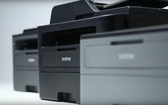 DCP-L2552DN kompaktní síťová 3-v-1 mono laserová tiskárna 4