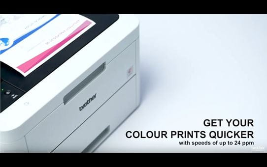 DCP-L3510CDW Colour Wireless LED 3-in-1 Printer 6