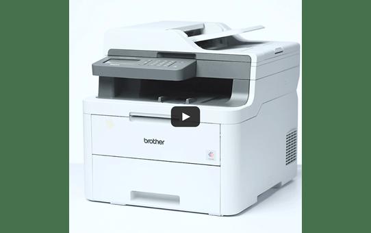 DCP-L3550CDW Imprimante multifonction 3-en-1 laser couleurWiFi 6