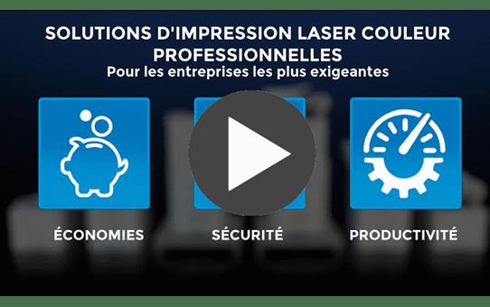DCP-L8410CDW imprimante laser couleur wifi multifonctions professionnelle 4
