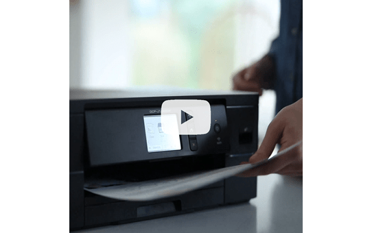 DCP-J1140DW kleuren inkjet all-in-one printer voor persoonlijk gebruik 8