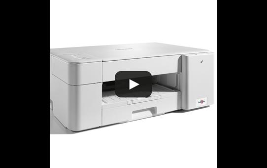 DCP-J1200W kleuren inkjet all-in-one printer met volledig mobiele bediening 6