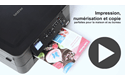 DCP-J572DW petite imprimante jet d'encre couleur 3-en-1 avec wifi 8