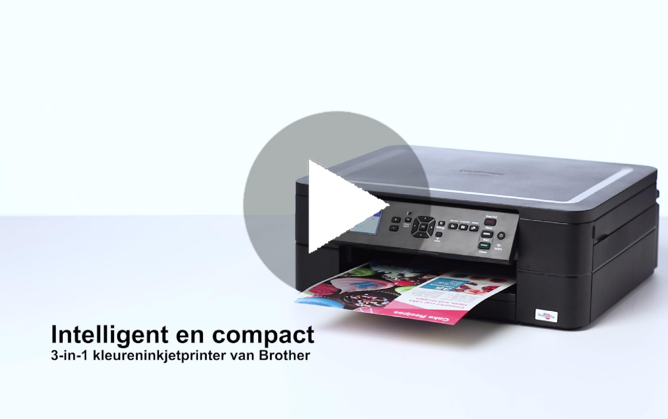 DCP-J572DW Draadloze kleureninkjetprinter 8