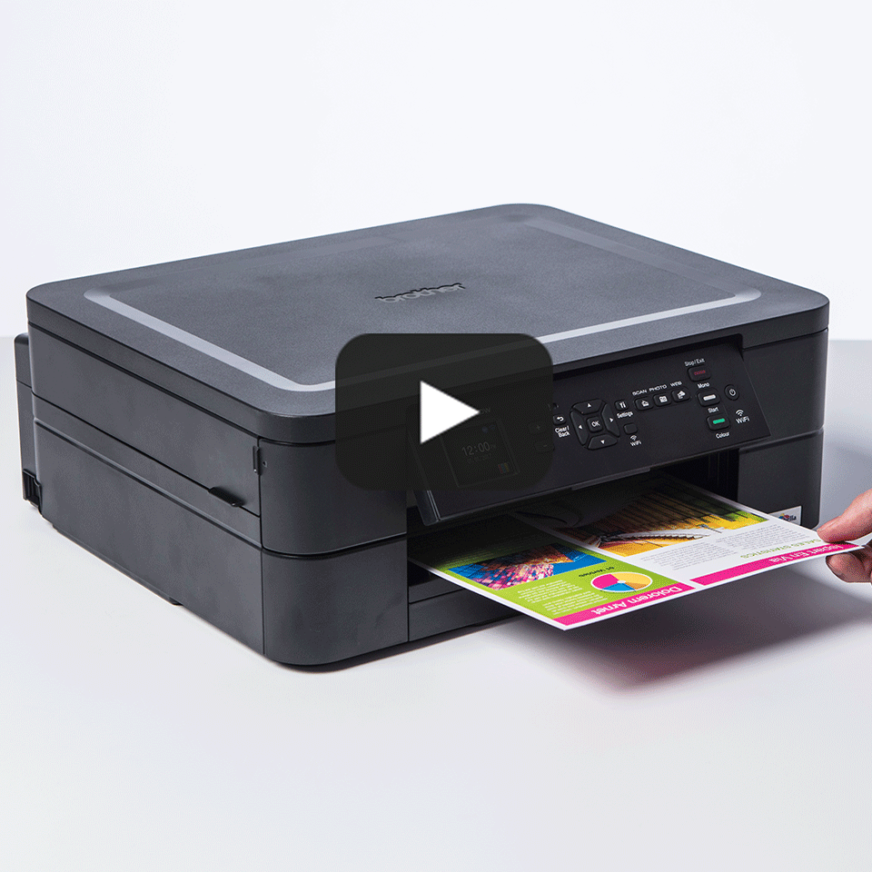 Wireless 3-in-1 Colour Inkjet Printer DCP-J572DW 9