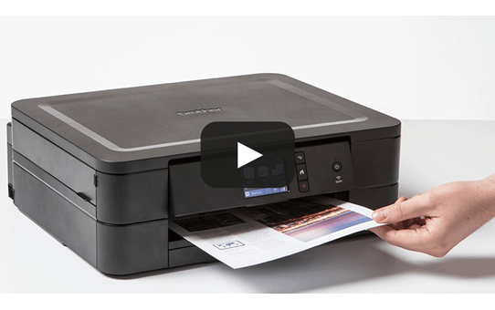 Wireless 3-in-1 colour inkjet printer DCP-J772DW 7