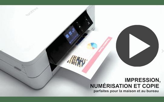 DCP-J774DW petite imprimante jet d'encre couleur 3-en-1 avec wifi 7