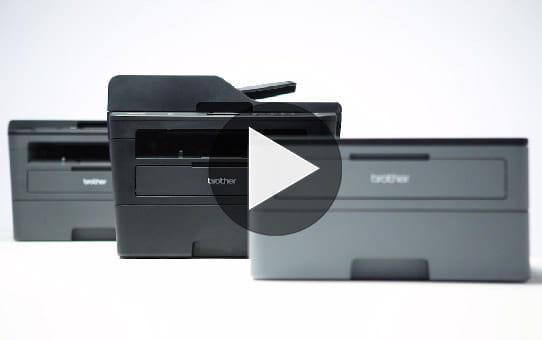 Compact Mono Laser Printer - Brother HL-L2310D  4