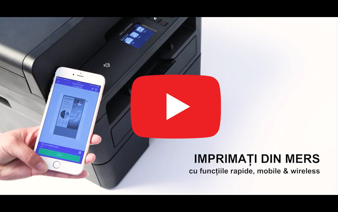 HL-L2312D Imprimantă laser mono compactă 4