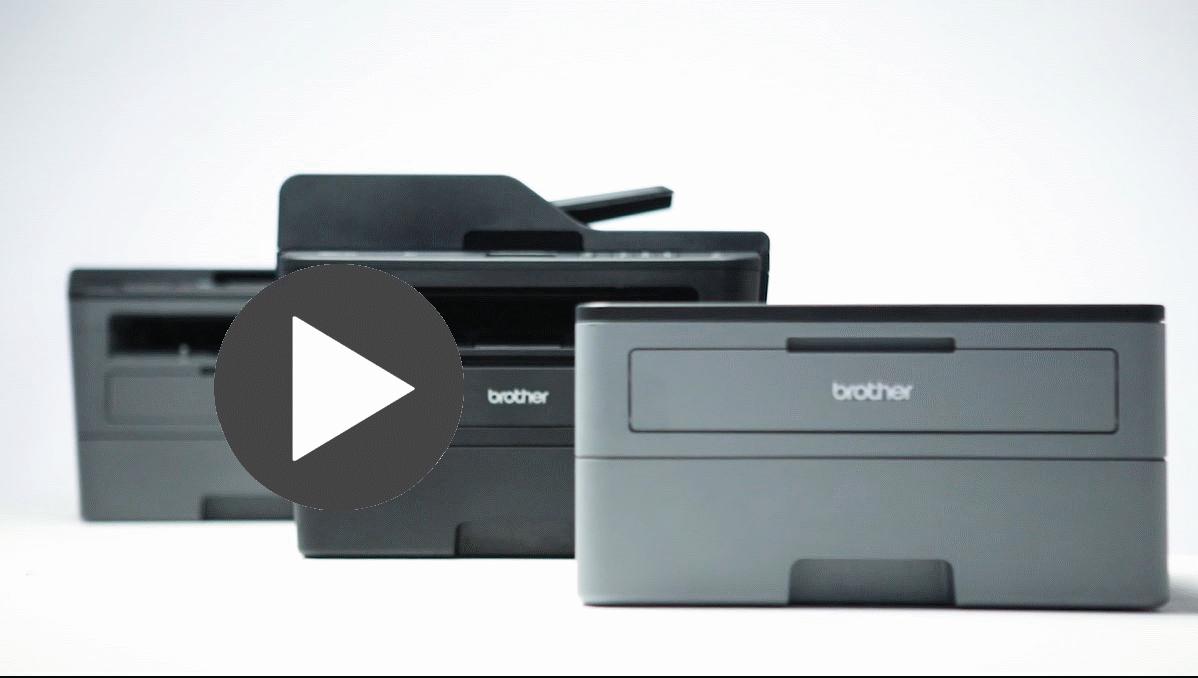 HL-L2352DW Kompaktowa drukarka monochromatyczna 4
