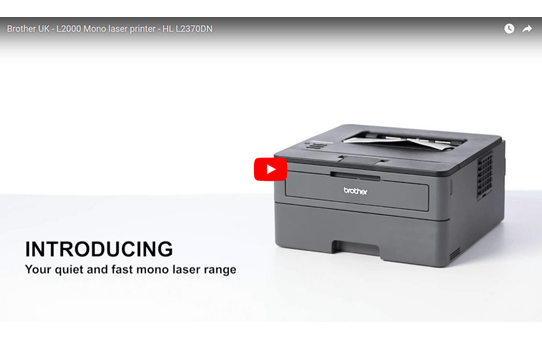 Compact Network Mono Laser Printer - Brother HL-L2370DN 4