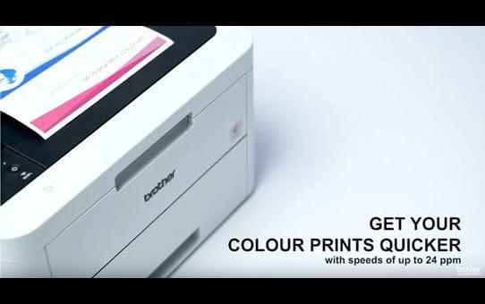 HL-L3210CW Colour Wireless LED printer 6