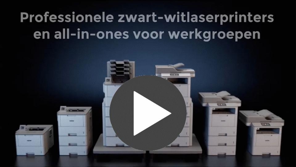 HL-L6300DW professionele zwart-wit wifi laserprinter 4