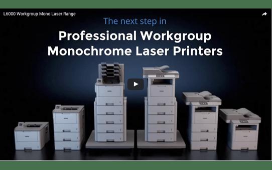 HL-L6300DW Mono Laser Workgroup Printer 5