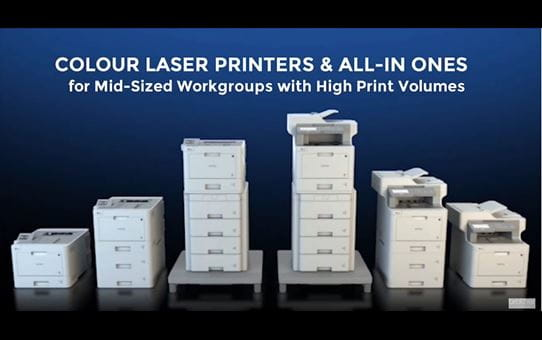 HL-L8260CDW Colour Laser + Duplex and Wireless 4
