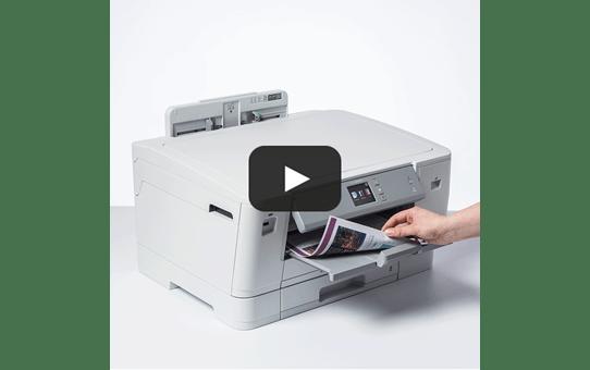 HL-J6000DW spalvotas belaidis A3 rašalinis spausdintuvas 7