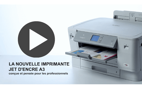 HL-J6000DW imprimante jet d'encre couleur A3 avec Wi-Fi et 2 bacs papier 7