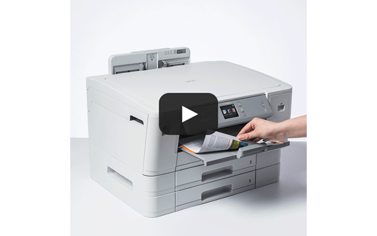 HL-J6100DW trådløs A3 inkjetprinter 7