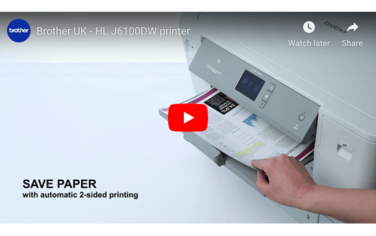 HL-J6100DW Colour Wireless A3 Inkjet Printer 8