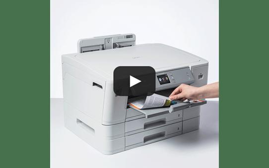 HL-J6100DW spalvotas belaidis A3 formato rašalinis spausdintuvas 7