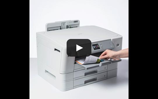 HL-J6100DW krāsu A3 tintes printeris ar bezvadu tīkla savienojumu 7