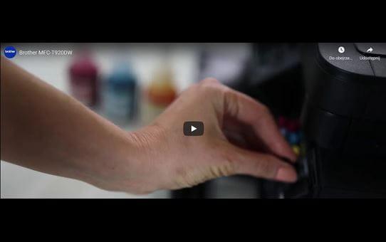 MFC-T920DW tintni višenamjenski uređaj u boji 3-u-1 Brother InkBenefit Plus 8