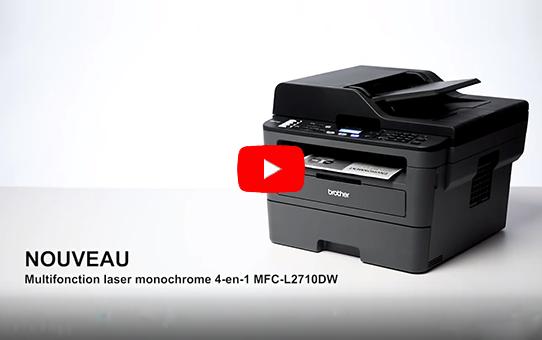 MFC-L2710DW  Imprimante multifonction 4-en-1 laser monochrome WiFi 8