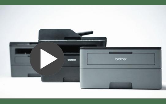 MFC-L2730DW imprimante laser multifonctions wifi noir et blanc 4