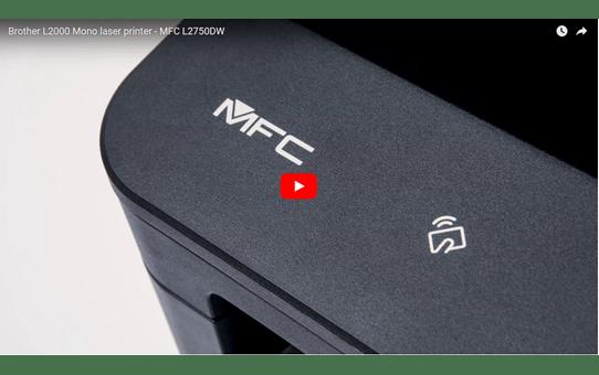 MFC-L2750DW - kompakt alt-i-én-laserprinter med trådløst og kablet netkort 7