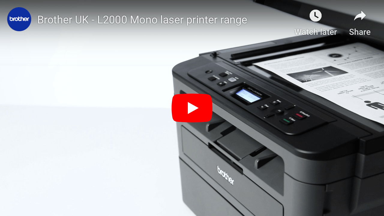 MFC-L2750DW Wireless & Network 4-in-1 Mono Laser Printer  7