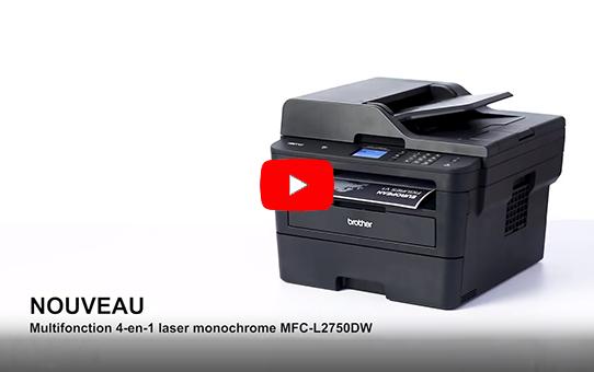 MFC-L2750DW Imprimante multifonction 4-en-1 laser monochrome WiFi et NFC 8