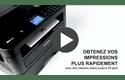 MFC-L2750DW imprimante laser multifonctions wifi noir et blanc 7