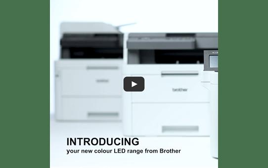 Brother MFCL3750CDW farge LED multifunksjonsskriver med kablet og trådløst nettverk 6