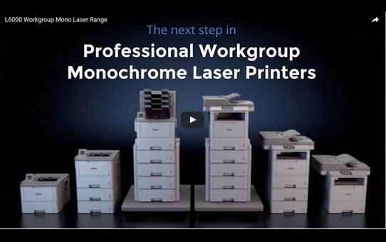 MFC-L6800DW Imprimante multifonction laser monochrome 6