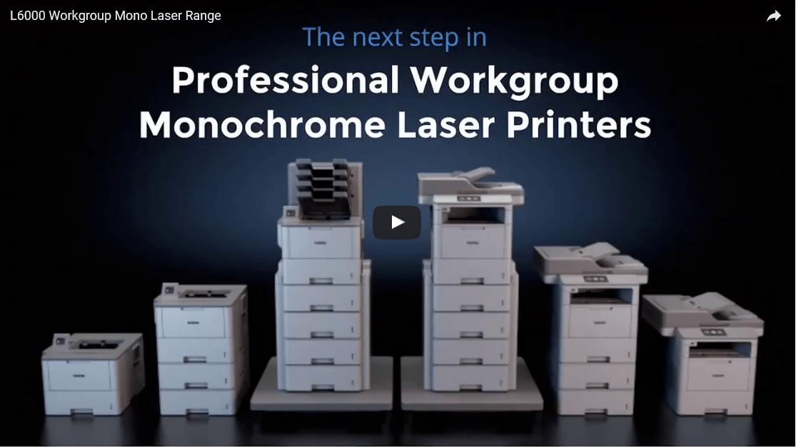 MFC-L6800DW Workgroup Mono Laser Printer 6