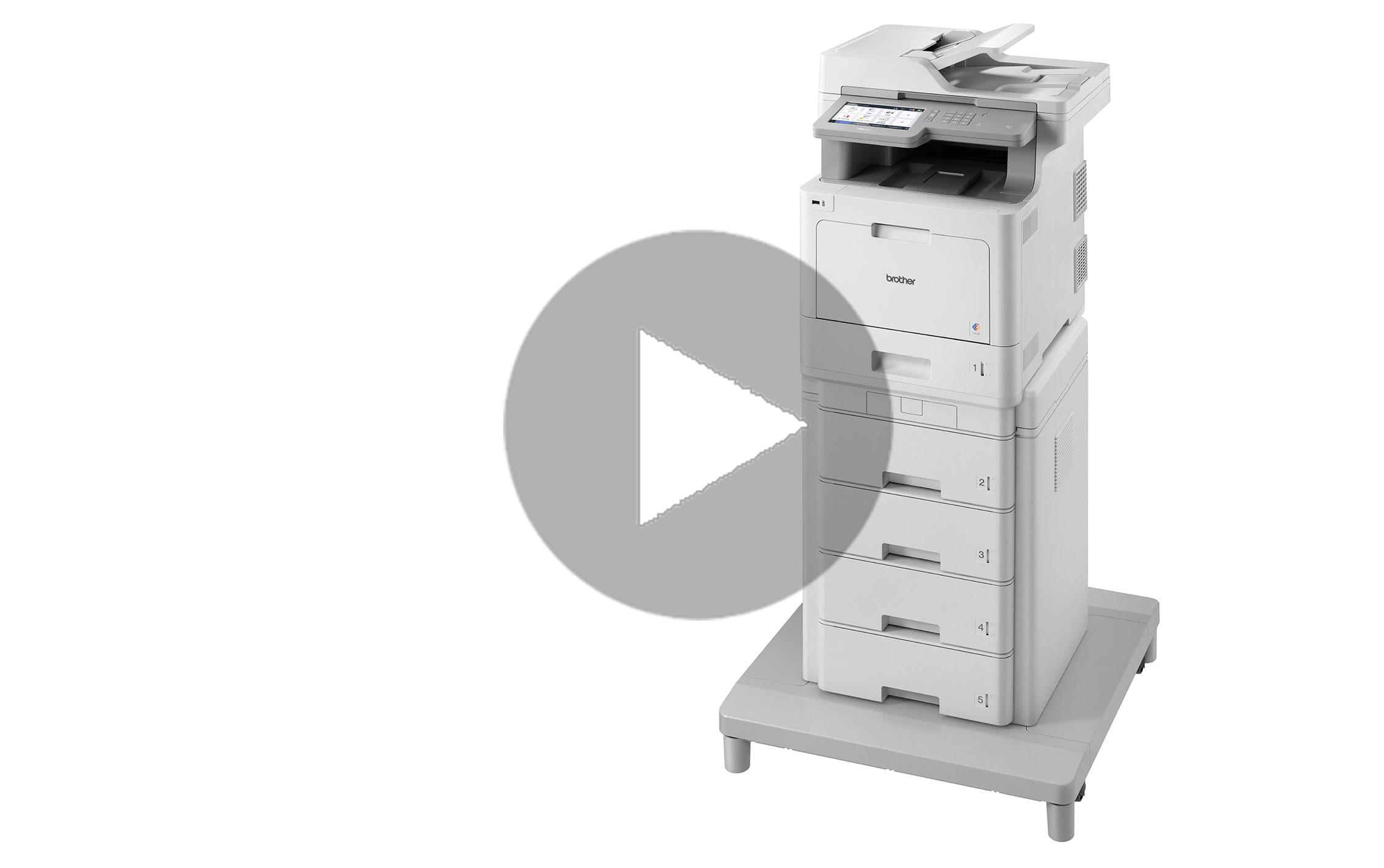 MFC-L9570CDWMT Professionele all-in-one kleurenlaserprinter met vijf papierladen en NFC 7
