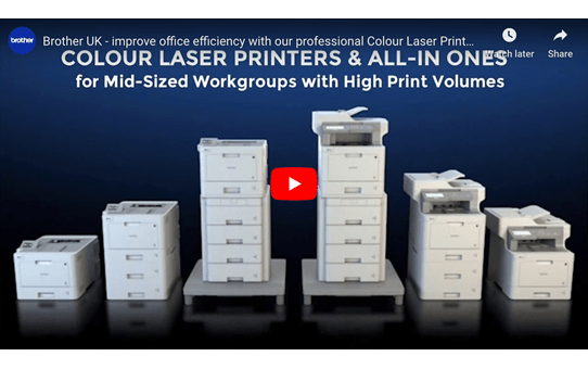 MFC-L9570CDWT Farblaser Multifunktionsdrucker + Papierschacht 5