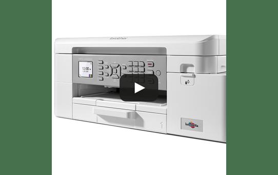 MFC-J4340DW - Imprimante jet d'encre couleur professionnelle 4-en-1 pour le travail à domicile 6