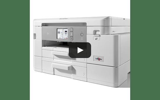 MFC-J4540DW - Imprimante jet d'encre multifonction couleur professionnelle 4-en-1 pour le travail à domicile 6