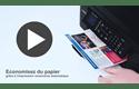 MFC-J491DW petite imprimante jet d'encre couleur 4-en-1 8