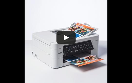 MFC-J497DW er en alt-i-én inkjetprinter med trådløst netkort 8