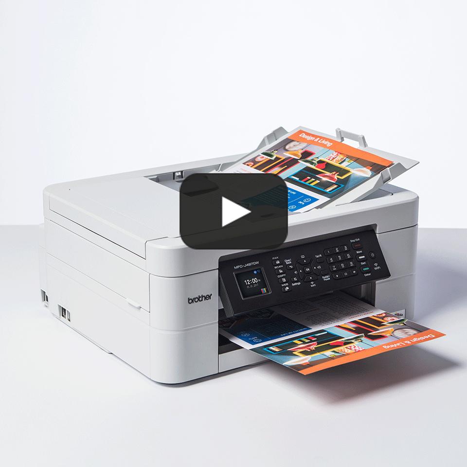 MFC-J497DW Wireless 4-in-1 Inkjet Printer 8