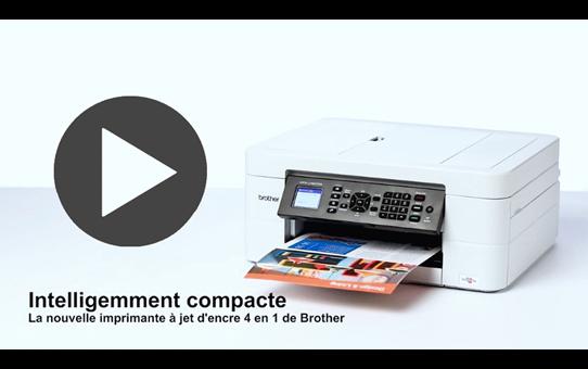 MFC-J497DW petite imprimante jet d'encre couleur 4-en-1 8