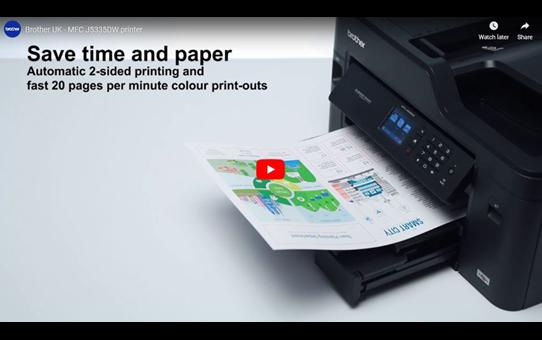 MFC-J5335DW A4 Wireless Inkjet Printer 4